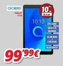 Oferta de Tablet Alcatel por 99,99€