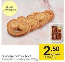 Oferta de Palmeritas mantequilla  por 2,5€