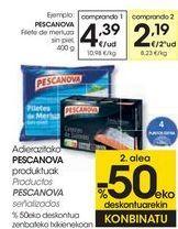 Oferta de Productos PESCANOVA Señalizados  por 4,39€