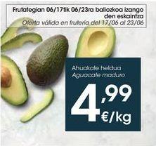 Oferta de Aguacate maduro  por 4,99€