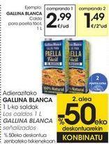 Oferta de Los caldos GALLINA BLANCA señalizados  por 2,99€