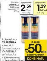 Oferta de Los espárragos CARRETILLA señalizados  por 2,59€