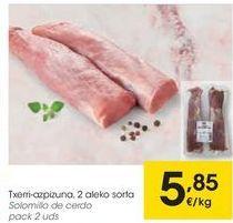 Oferta de Solomillo de cerdo  por 5,85€