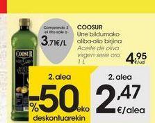 Oferta de Aceite de oliva virgen serie oro COOSUR por 4,95€