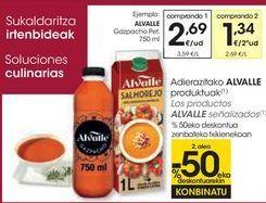 Oferta de Los productos ALVALLE señalizados  por 2,69€