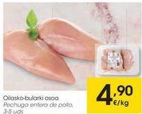 Oferta de Pechuga entera de pollo  por 4,9€