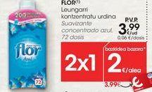 Oferta de Suavizante concentrado azul FLOR  por 3,99€