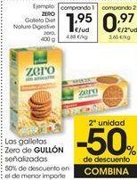 Oferta de Las galletas Zero de GULLÓN señalizados  por 1,95€