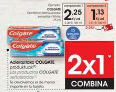Oferta de Los productos COLGATE señalizados  por 2,25€