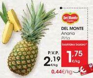 Oferta de Piña DEL MONTE  por 1,75€