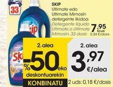 Oferta de Detergente líquido Ultimate o Ultimate Mimosín SKIP  por 7,95€