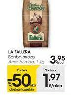 Oferta de LA FALLERA Arroz bomba  por 3,95€