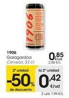 Oferta de 1906 Cerveza  por 0,85€