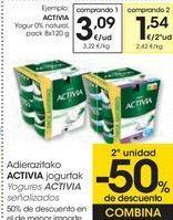 Oferta de Yogures ACTIVIA señalizados  por 3,09€