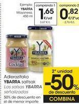 Oferta de Las salsas YBARRA señalizadas  por 1,65€