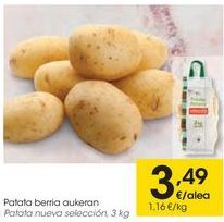 Oferta de Patata nueva selección  por 3,49€