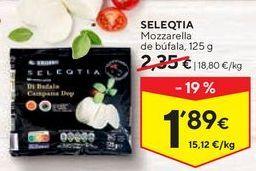 Oferta de Mozzarella Seleqtia por 1,89€