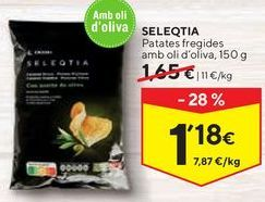 Oferta de Patatas fritas Seleqtia por 1,18€