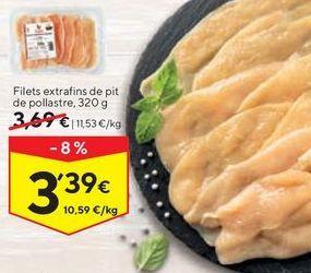 Oferta de Pechuga de pollo por 3,39€