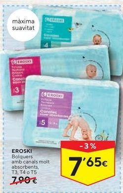 Oferta de Pañales eroski por 7,65€