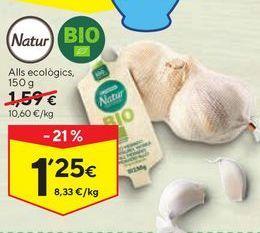Oferta de Ajos tiernos por 1,25€