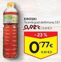 Oferta de Té helado eroski por 0,77€