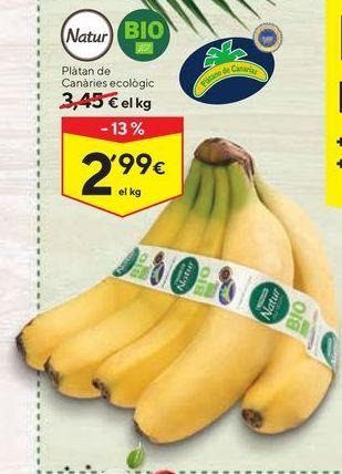 Oferta de Plátanos de Canarias por 2,99€