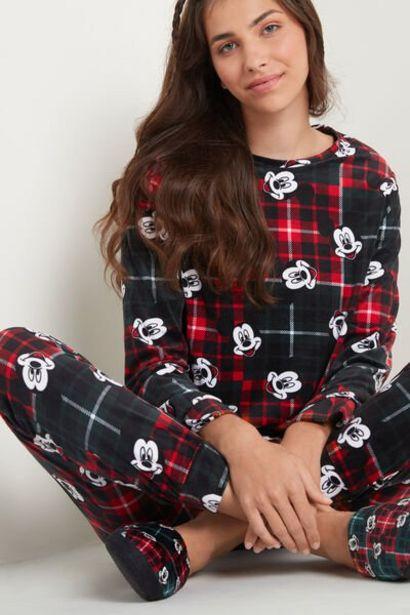 Oferta de Pijama Largo de Microfibra Mickey Mouse por 25,99€