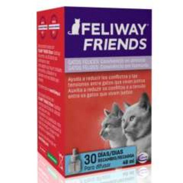Oferta de Feliway Friends para gatos recambio por 19,99€