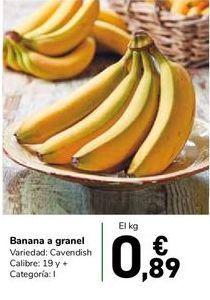 Oferta de Banana a granel por 0,89€