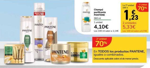 Oferta de En TODOS los productos PANTENE, iguales o combinados por