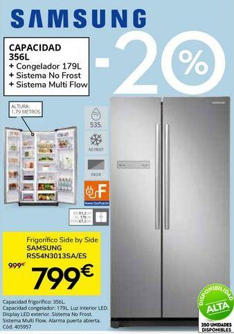 Oferta de Slide by side Samsung por 799€