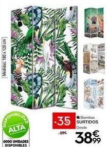 Oferta de Biombo por 38,99€