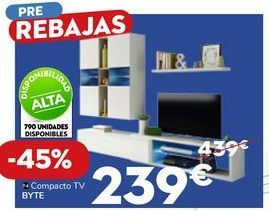 Oferta de Mueble tv por 239€