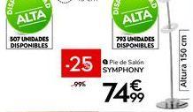 Oferta de Pie de salón por 74,99€