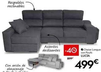 Oferta de Chaise longue por 499€