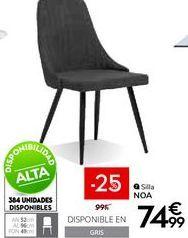Oferta de Sillas por 74,99€