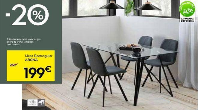 Oferta de Mesa de comedor por 199€