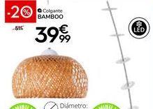 Oferta de Lámpara colgante por 39,99€