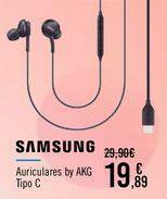 Oferta de SAMSUNG Auriculares by AKG  por 19,89€