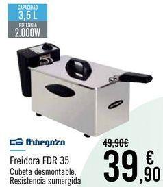 Oferta de Orbegozo Freidora FDR 35 por 39,9€