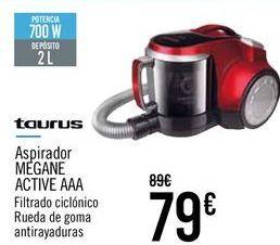 Oferta de TAURUS Aspirador MEGANE ACTIVE AAA por 79€