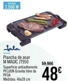 Oferta de Jata Plancha de asar M MAGIC JT950 por 48€