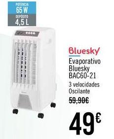 Oferta de Bluesky Evaporativo Bluesky BAC60-21 por 49€