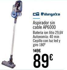 Oferta de Orbegozo Aspirador sin cable AP6000 por 89€