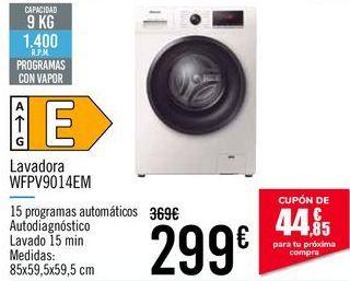 Oferta de Lavadora WFPV9014EM por 299€