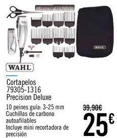 Oferta de WAHL Cortapelos 79305-1316 Precision Deluxe  por 25€