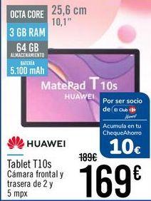 Oferta de HUAWEI Tablet T10s por 169€
