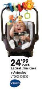 Oferta de Gimnasio para bebé Vtech por 24,99€