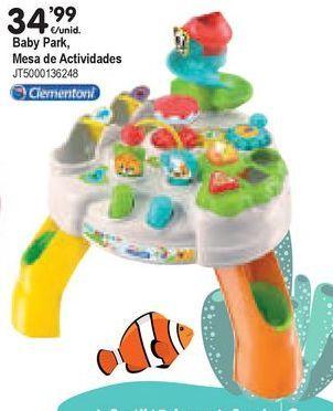 Oferta de Mesa de actividades bebé Clementoni por 34,99€